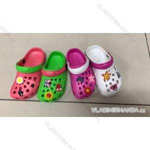 Pantofle kroksy nazouváky dětské dívčí (24-29) RISTAR RIS19069