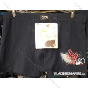 Boxerky bavlněné pánské (L-3XL) PESAIL PES20G55458