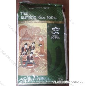 Najlepšie jazmínová ryža - thaiskej ryža - 18 kg / 1460kč - aaa lotus brand