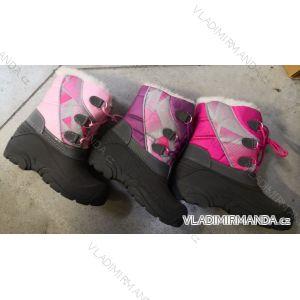 Topánky zimné členkové zateplené dorast dievčenské (31-36) RISTAR RIS19117