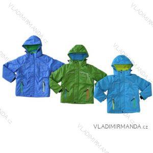 Bunda zimná lyžiarsky pás rukávy detská chlapčenská (98-128) KUGO TB263