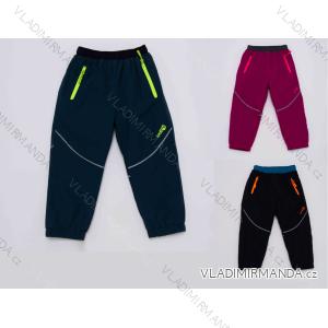 nohavice Šuštiakové zateplené flaušom chlapčenské (80-92) WOLF B2971