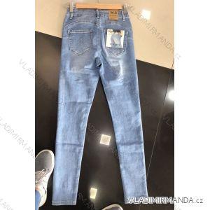 Rifle jeans push up dlouhé dámské (25-31) M.SARA MA519S2091-2
