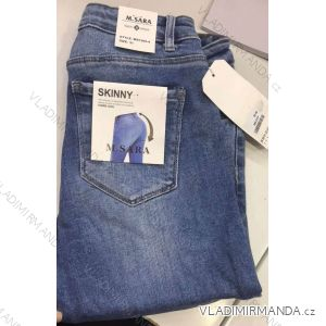 Rifle jeans push up dlouhé dámské (25-31) M.SARA MA519S2091-3