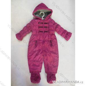 Kombinéza zimná dojčenská dievčenské (56-86) LS EAST JK061G
