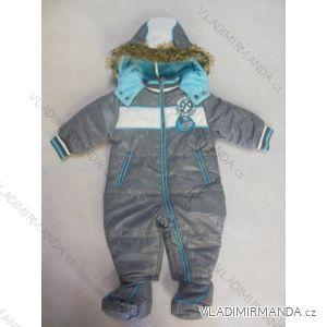 Kombinéza zimná dojčenská chlapčenská (56-86) LS EAST JK063B