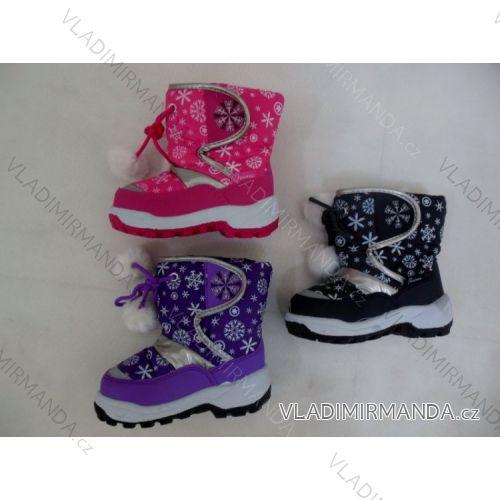 Topánky snehule teplé detské dievčenské a chlapčenské (22-27) 559 ... 00c43b49184