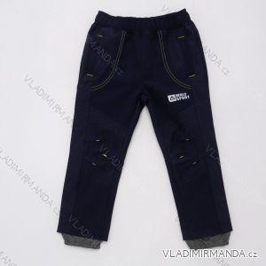 Kalhoty softshellové tenké kojenecké dětské chlapecké (92-110) WOLF B2083