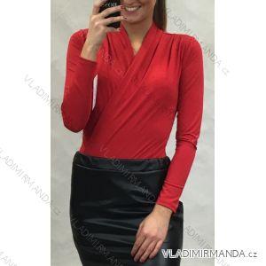 Body dlouhý rukáv dámské (uni s-m) ITALSKá MODA IM919986