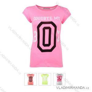Tričko krátky rukáv dámske (sl) GLO-STORY WPO-4571