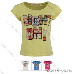 Tričko krátky rukáv dámske (sl) GLO-STORY WPO-5045