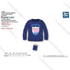 9fc44ea7bc2d Tričko dlhý rukáv peppa pig detské chlapčenské (3-8 rokov) SUN CITY EN6685