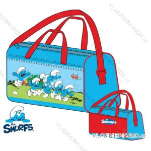 Športová taška šmoulové detská chlapčenská (uni) SUN CITY NH4425