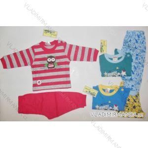 Pyžamo dojčenské mix (62-92) COANDIN S1369