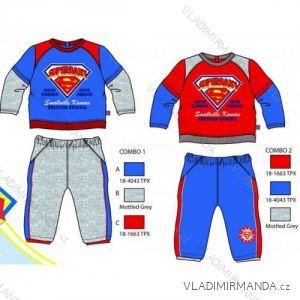 dc5c9abc24111 Súprava tepláková superman dojčenská chlapčenská (3-24 mesiacov) TKL  SUP-H14-
