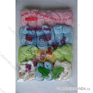 Papučky dojčenské zamatovej 41-AB