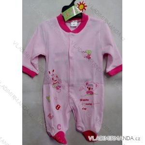 Dupačky dojčenské dievčenské bavlnené (62-98) VAK T-03