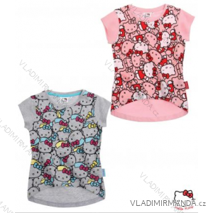 Tričko krátky rukáv hello kitty detské aj dorasteneckej dievčenské bavlnené  (104-140) TV cae923fc8bf