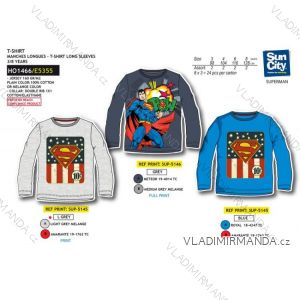 338547f3e Tričko dlhý rukáv superman detské chlapčenské (3-8 rokov) SUN CITY HO1466