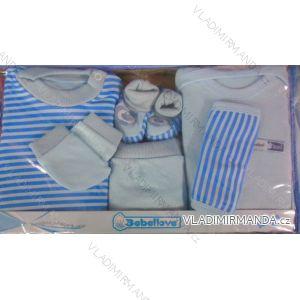 Komplet (7 ks) dojčenský dievčenský a chlapčenský (0-6 mesiacov) výroba v Turecku TV04