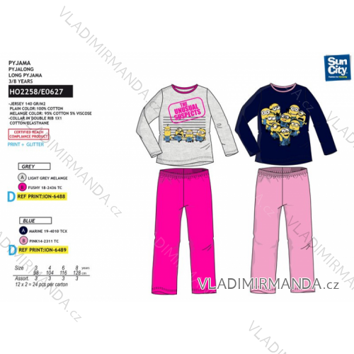 792d64f9099dc Pajamas long mimio baby girl (3-8 years) SUN CITY HO2258