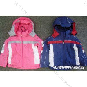 Bunda jesenná šušťáková dojčenská detská dievčenská a chlapčenská (2-8 rokov) AODA AD02
