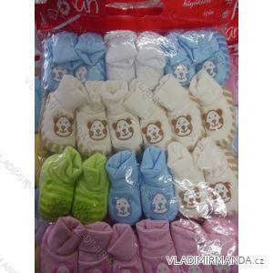 Papučky dojčenské dievčenské a chlapčenské TURECKÁ VÝROBA TUR03